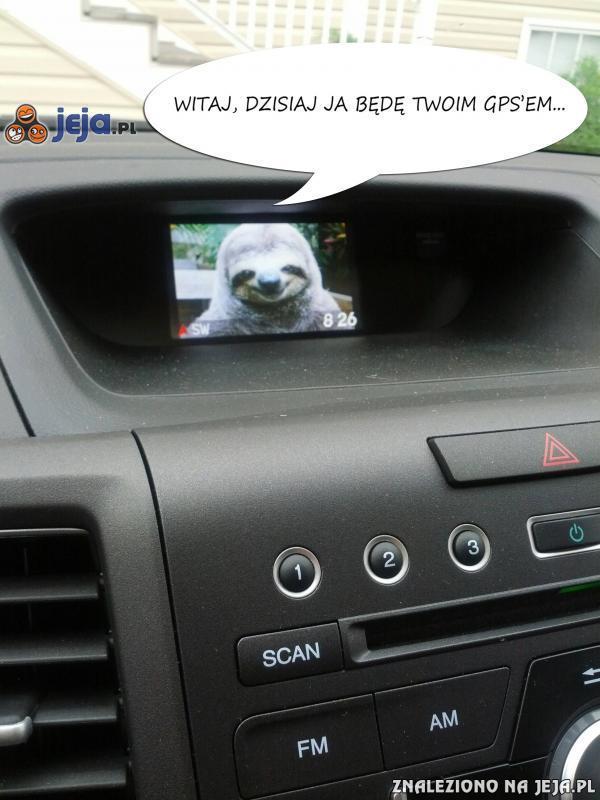 Witaj, dzisiaj ja będę Twoim GPS'em