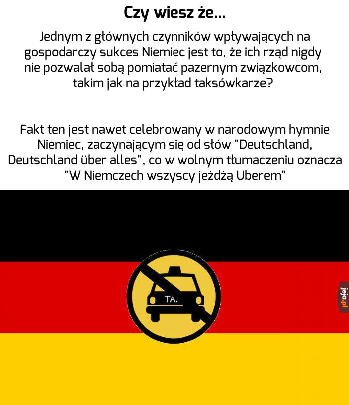 Niemcy, proszę pana