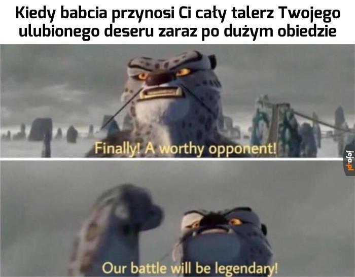 Z nim też wygram!