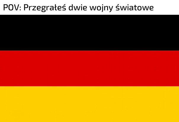 Wiedzieliście, że gwiazdki na fladze Niemiec oznaczają wygrane wojny światowe?