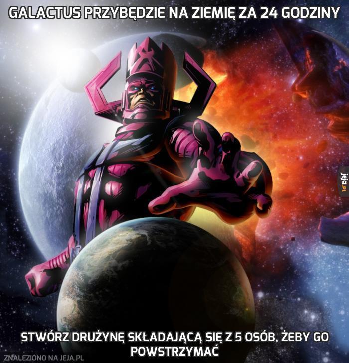 Galactus przybędzie na Ziemię za 24 godziny