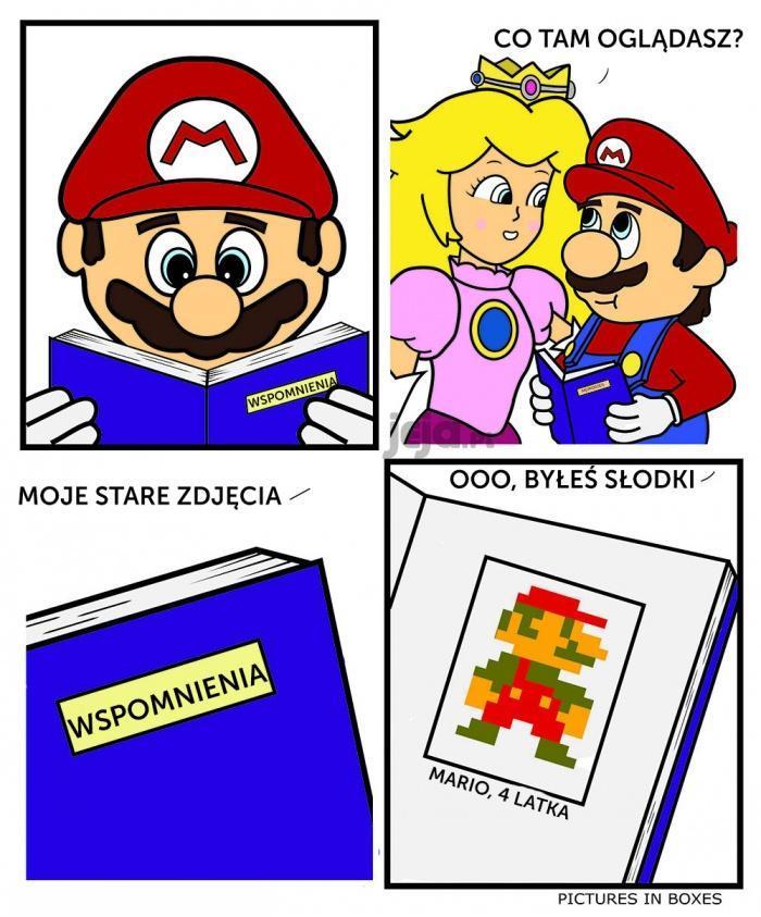 Mario wspomina stare czasy