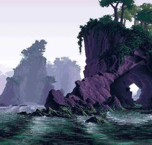 16-bitowy krajobraz