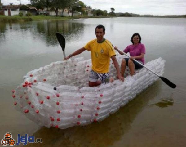 Łódka z odzysku