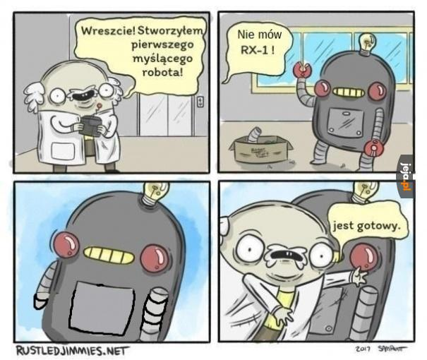 Robot wreszcie gotowy