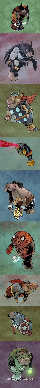 Superbohaterowie w nowej postaci