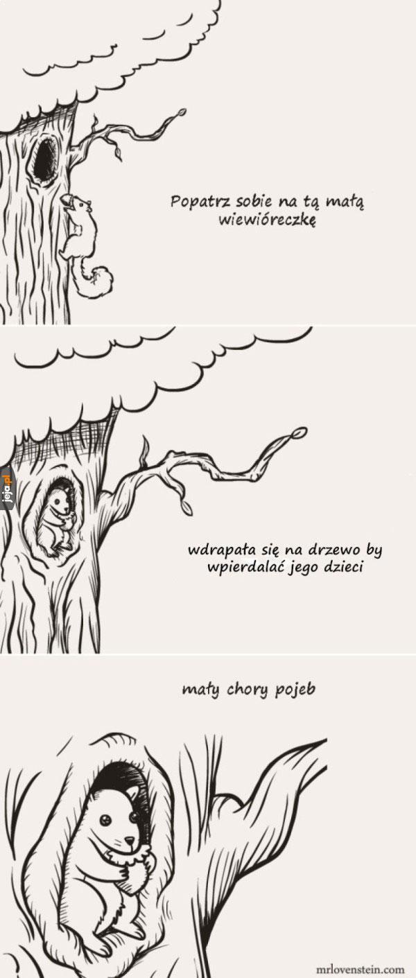 Wiewiórcza bestia