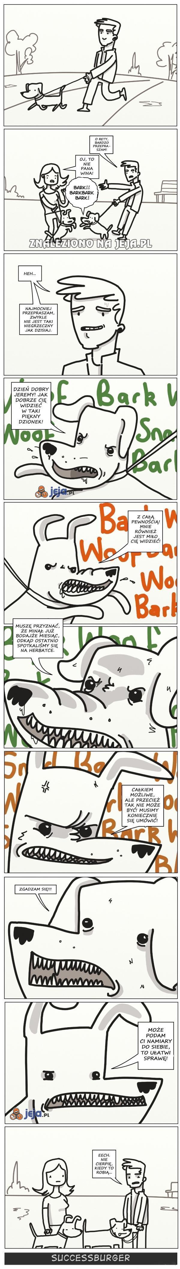 A Ty twierdzisz, że psy są głupie...