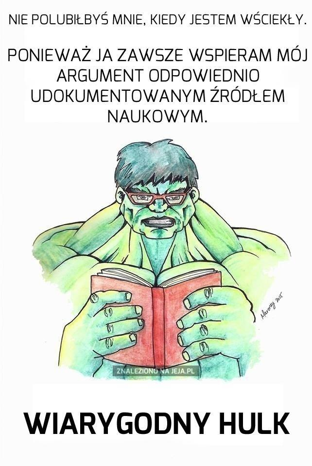 Wiarygodny Hulk