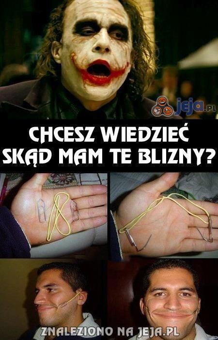 Joker w końcu zdradza swój sekret