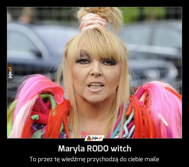 Maryla RODO witch