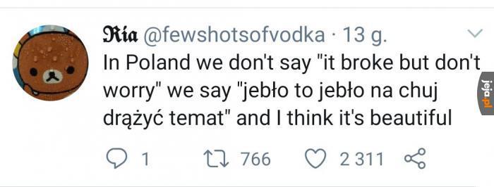 Nasz język jest piękny