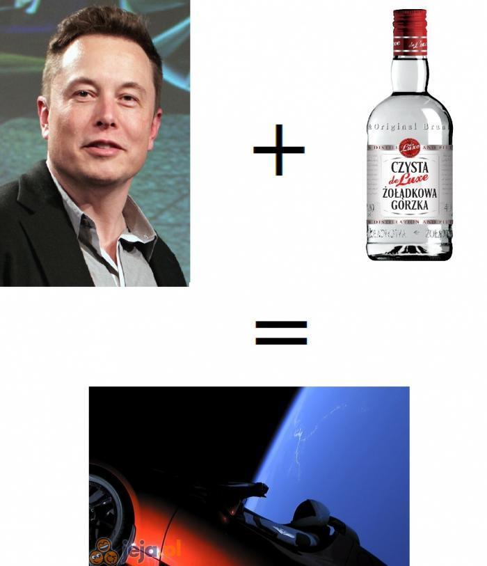 Elon zabalował