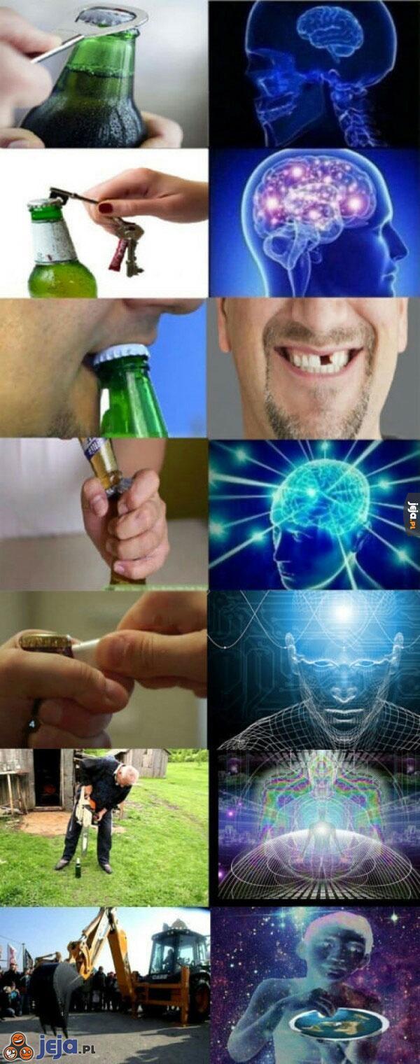 Otwieranie piwa