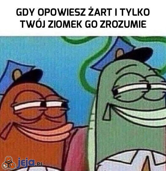 Chociaż on