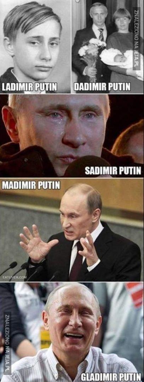 50 twarzy Putina
