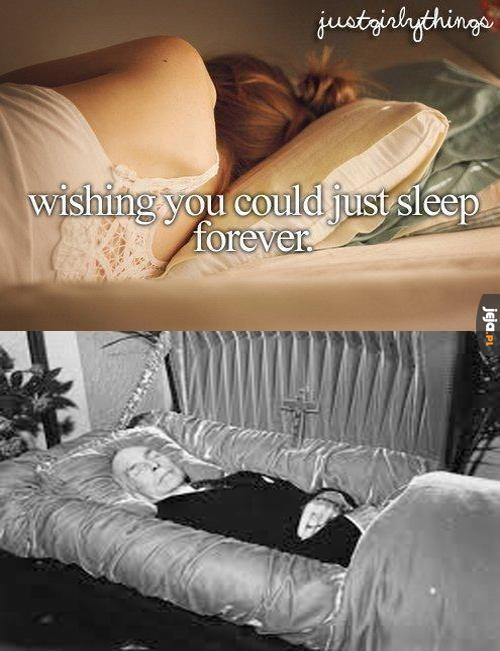 Spać wiecznie
