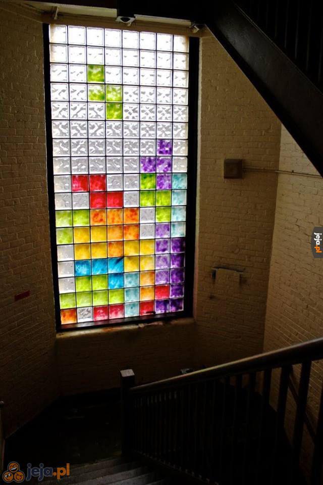 Niby okno, a jednak Tetris