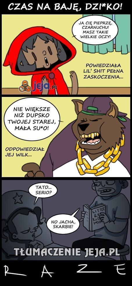 Murzyński kapturek, brachu!