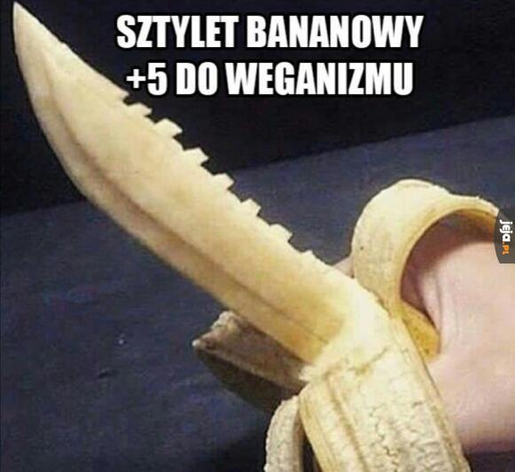 Sztylet bananowy