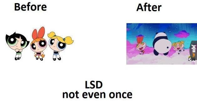 Panie, jakie narkotyki?!