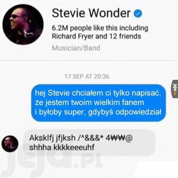 Odpowiedział jak umiał najlepiej