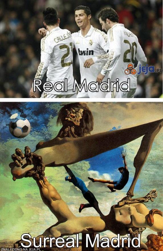 Real Madrid i Surreal Madrid