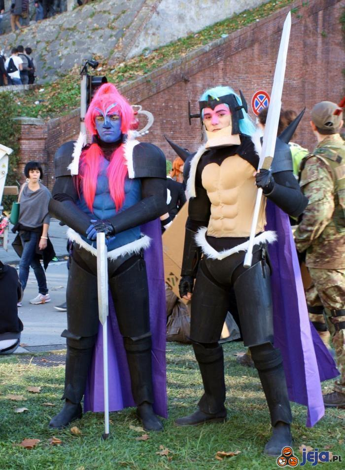 Cosplay level: Starbarians