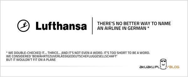 Nazwa niemieckich linii lotniczych