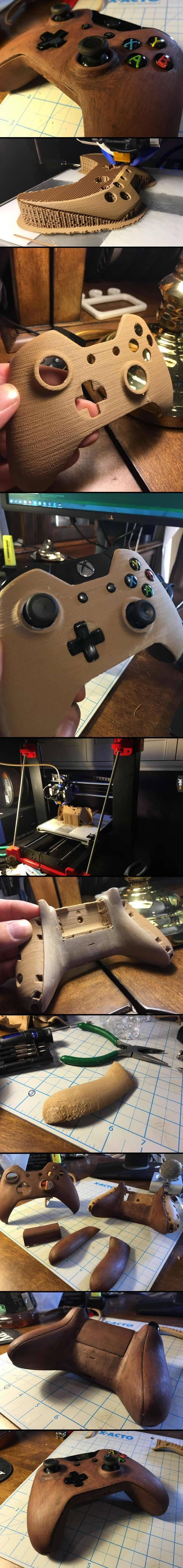 Obudowa do pada wydrukowana w 3D