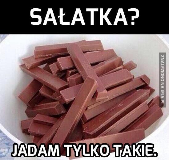Mmm, uwielbiam sałatki...