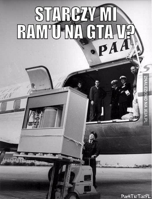 Starczy mi RAM'u?