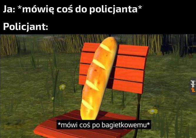 Typowy język policjantów