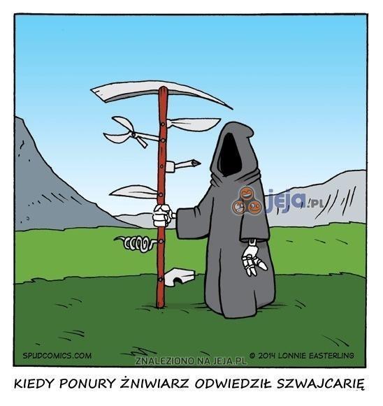 Kiedy Ponury Żniwiarz odwiedził Szwajcarię