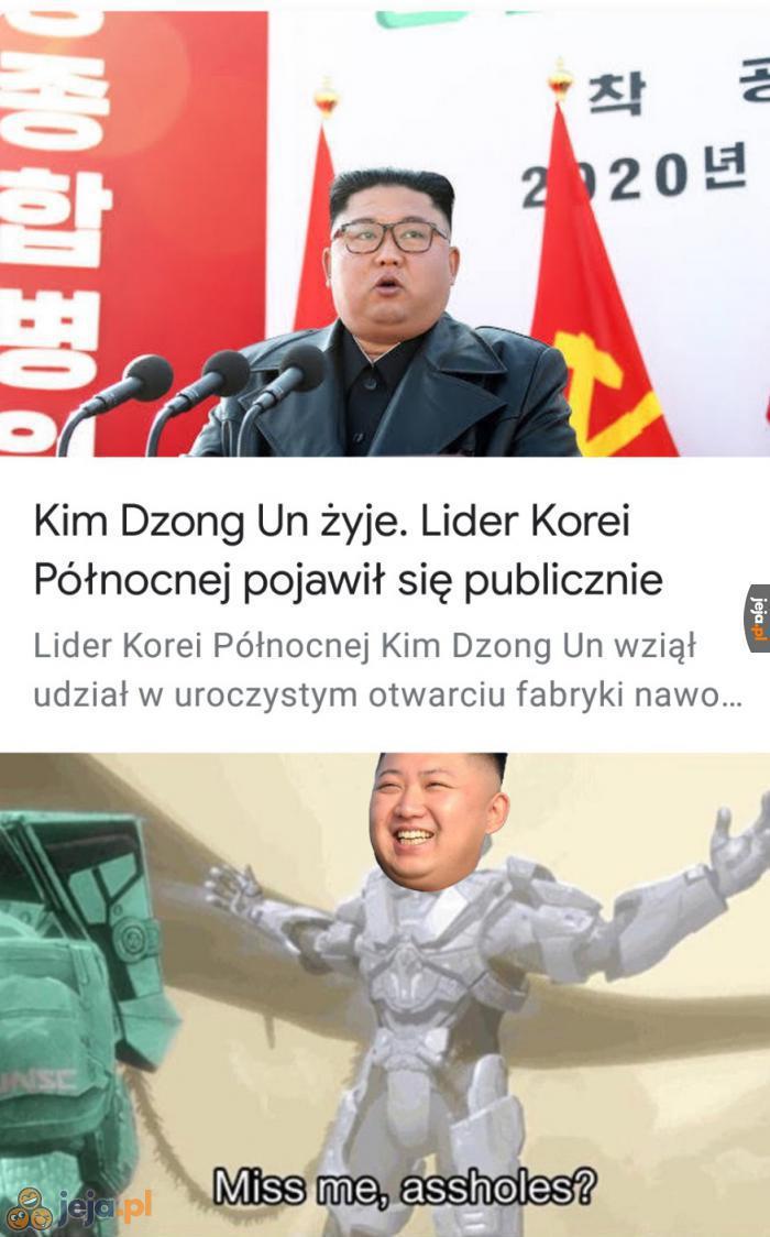 Kim Dzong Dos jeszcze trochę poczeka
