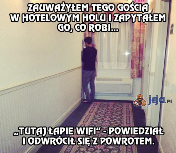Co to Wi-fi robi z ludźmi...