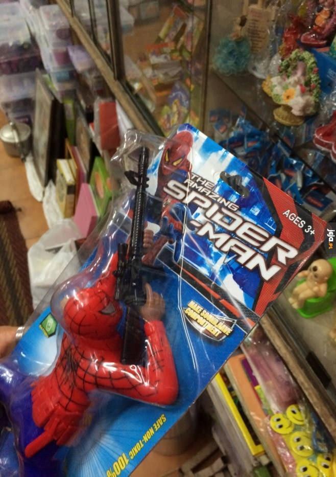 Spiderman, co jest grane?