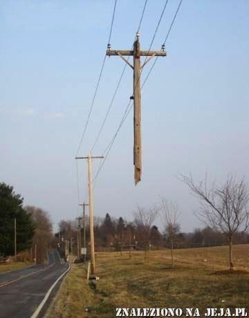 Awaria sieci energetycznej