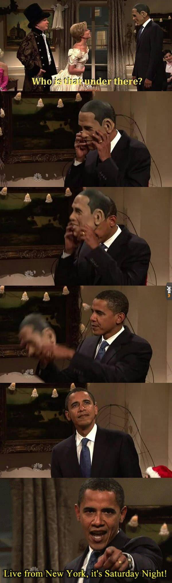 Obama to jest śmieszek