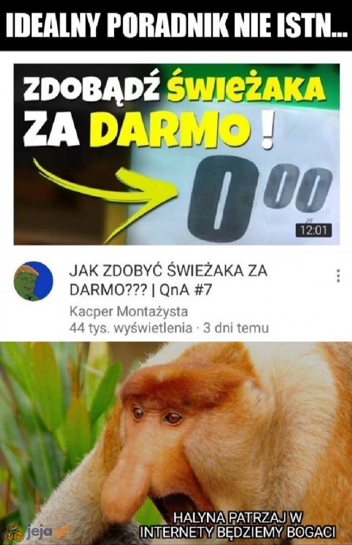 Janusz odkrywa internet