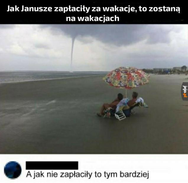 Co tam pogoda, nad Bałtykiem zawsze jest brzydko i jakoś zostajemy