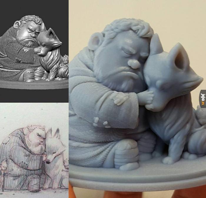 Figurka 3D Hodora
