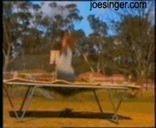 Nawet trampolina nie lubi rudych