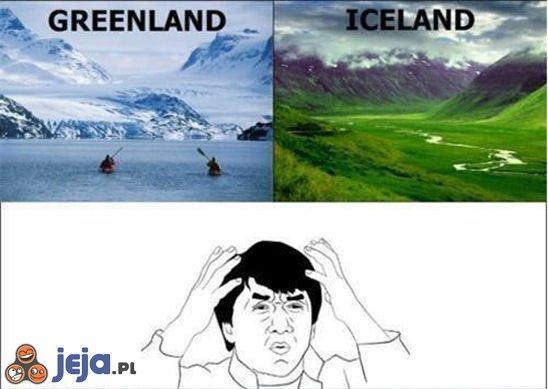 Greenland i Iceland