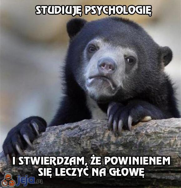 Smutna prawda o studiowaniu psychologii