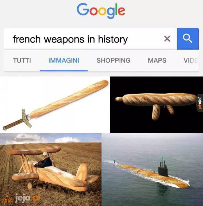 Historia francuskich broni