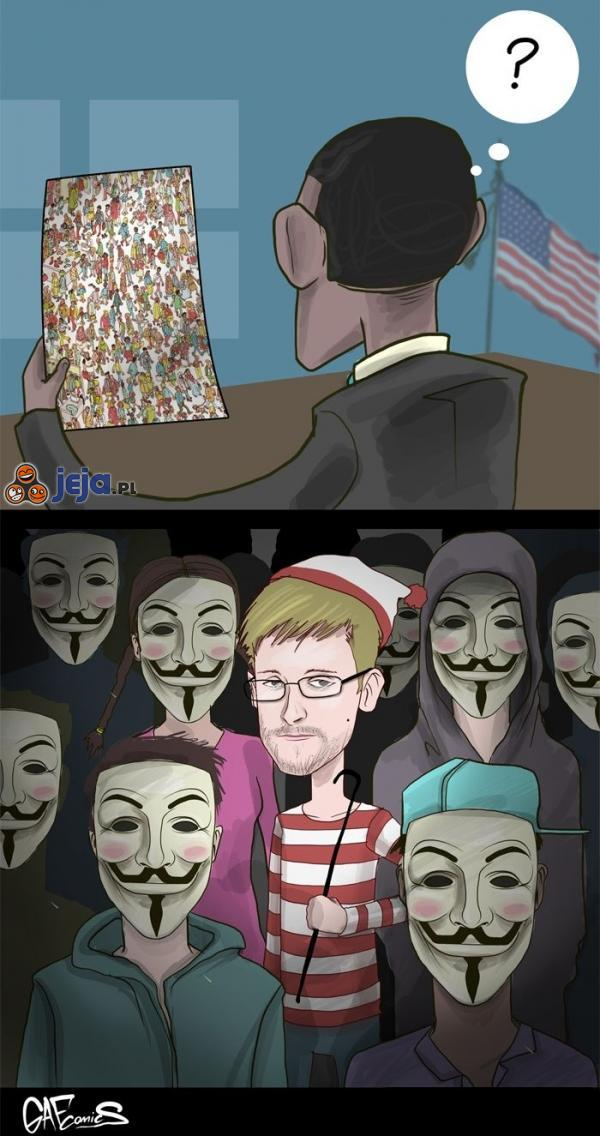 Gdzie jest Snowden?