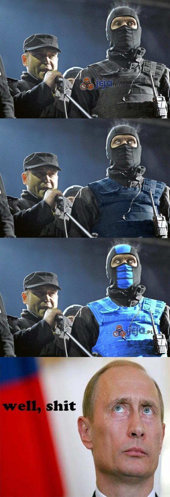 Ukraina przyzywa Sub Zero!