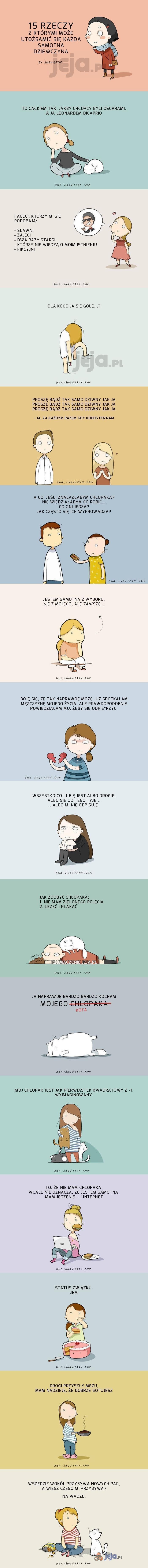Problemy samotnych dziewczyn