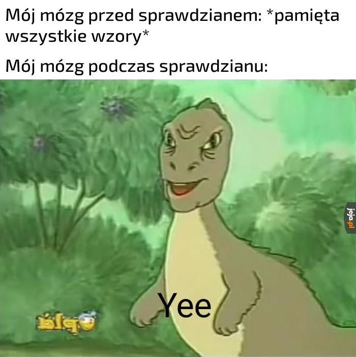 Zmienia się w dinozaura